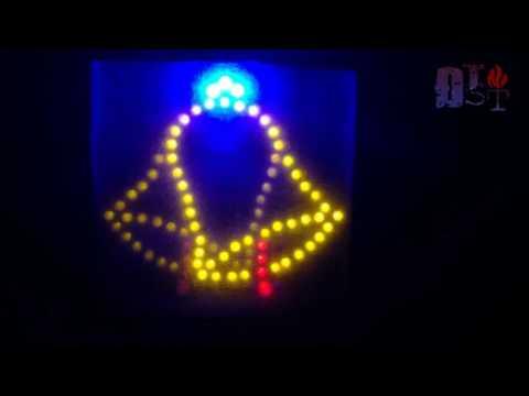 Hướng dẫn làm Đèn chuông trang trí Noel