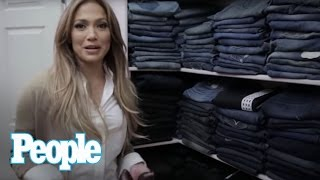Jennifer Lopez Shows Us Inside Her Enormous Closet! | Hollywood at Home | People