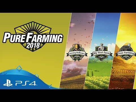 Pure Farming 2018 | Game Modes Trailer | PS4