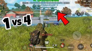 1 vs 4 SOLO SQUAD MONTAGE | Rules of Survival