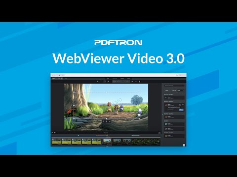 Annotate And Draw On Live Videos Using JavaScript - WebViewer Video 3.0