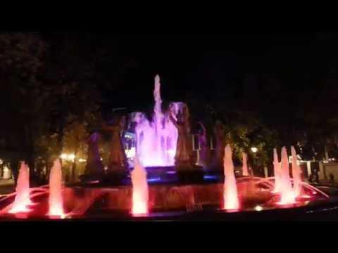Поющий фонтан 'Семь девушек' 2