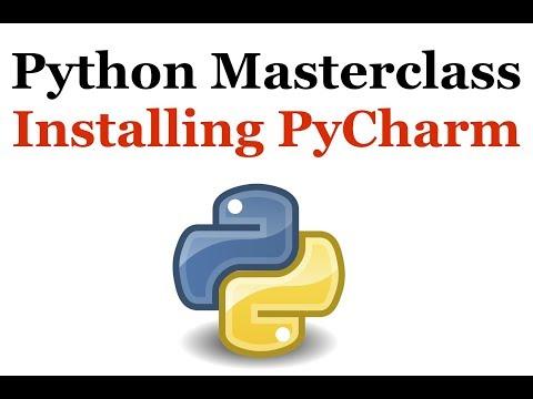 Python Programming Masterclass 10 - Installing PyCharm - Beginner to Expert