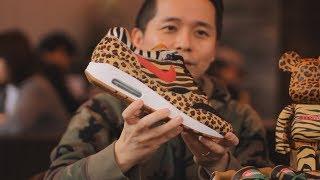 "History of atmos x Nike Air Max Animal Pack Straight From Designer ""Koji"""