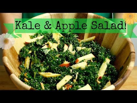Apple Quinoa Kale Salad