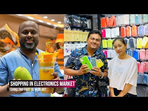 Electronics & Mobile Market, Beijing Lu Street Shopping, China Trip EP #16