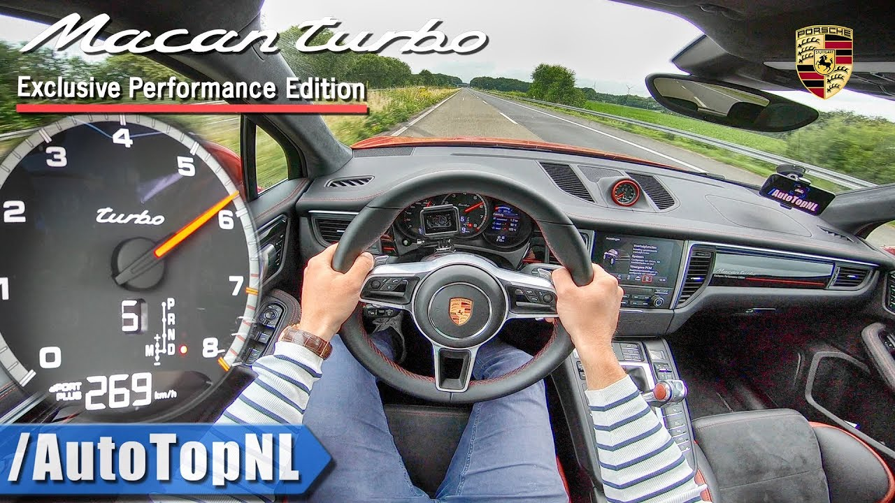porsche macan turbo 440hp performance pack autobahn pov top speed by autotopnl youtube. Black Bedroom Furniture Sets. Home Design Ideas
