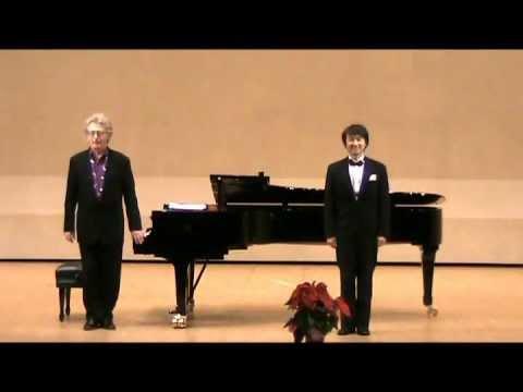 Schubert: Winterreise - Kazuo Tanaka & Norman Shetler [Part1/2]