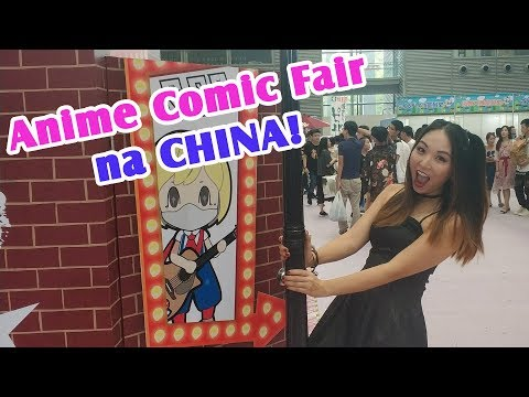SCAF Shenzhen Comic Anime Fair 2018 - Feira de animes cosplay China