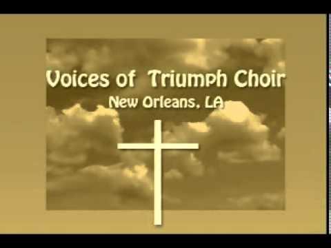 "Voices of Triumph Choir ~  ""When I Get Home"" ~ Lead Vocalist - Wilbert Arnold Jr."