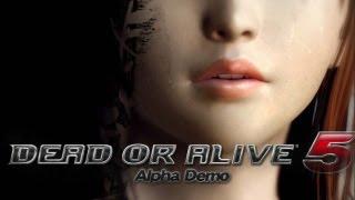 Dead or Alive 5 - Alpha Demo