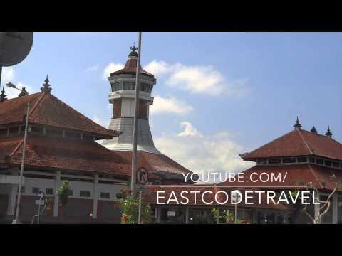 Mengwi bus terminal in Bali Indonesia