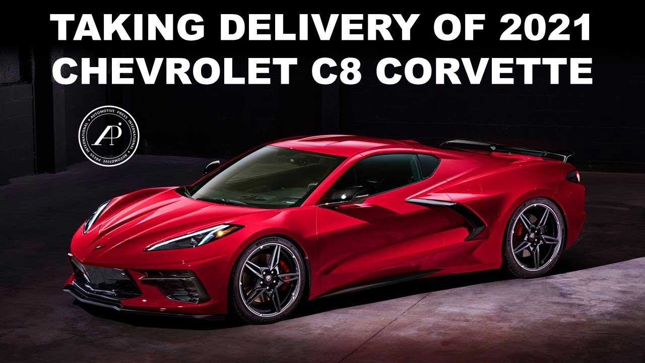 TAKING DELIVERY OF 2021 CHEVROLET C8 CORVETTE - Engineer helps friend pick up the new Corvette