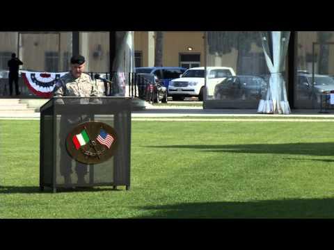 USARAF Change of Command - MG Donahue's Speech