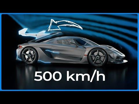 500 km/h TRANSFORMATION – Koenigsegg Jesko Absolut