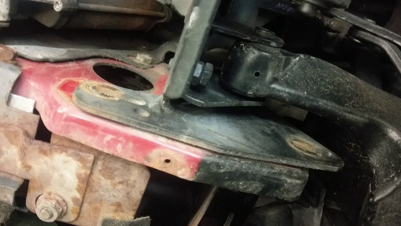 1987 Ford Mustang Convertible Top Frame Removal