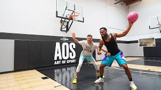 Cash vs Brawadis 1v1 Rivalry Basketball Game!