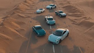 The new Porsche Taycan: Soul Journey