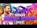 DESTROY ALL BUILDS WITH THIS ATHLETIC FINISHER 2K19 BUILD