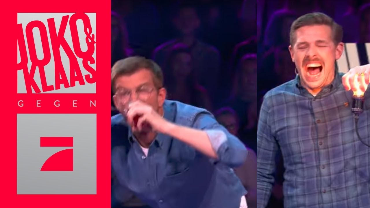 Abhangen 15 Minuten Live Oder Taff Moderation Finale Joko Klaas Gegen Prosieben Youtube