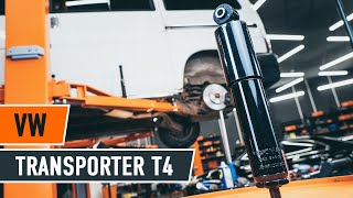 VW TRANSPORTER T4 Hátsó lengéscsillapítók csere [ÚTMUTATÓ]