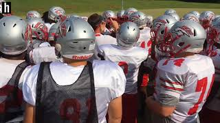 Behind the scenes with South Pointe football: Monday practice