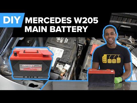 Mercedes-Benz W205 C300 Battery Replacement DIY (2012-2018 C250 & C350)