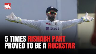 5 Times when Rishabh Pant proved to be a Rockstar | #INDvsENG