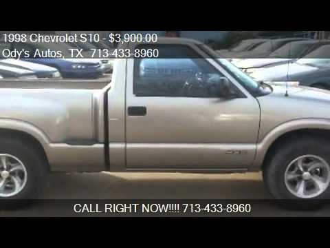 Chevrolet S10 Ls Reg Cab Sportside 2wd For Sale In
