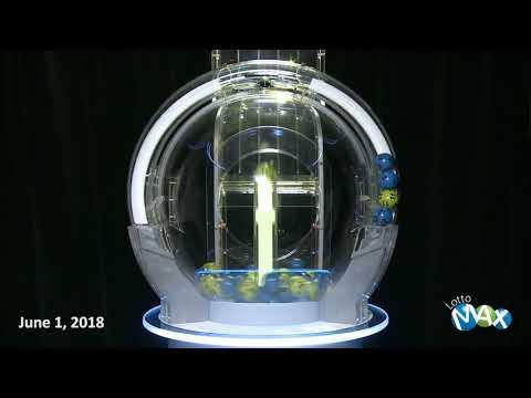 Lotto Max Draw June 1, 2018
