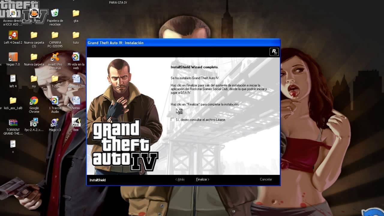 descargar e instalar gta 4 para pc windows 10