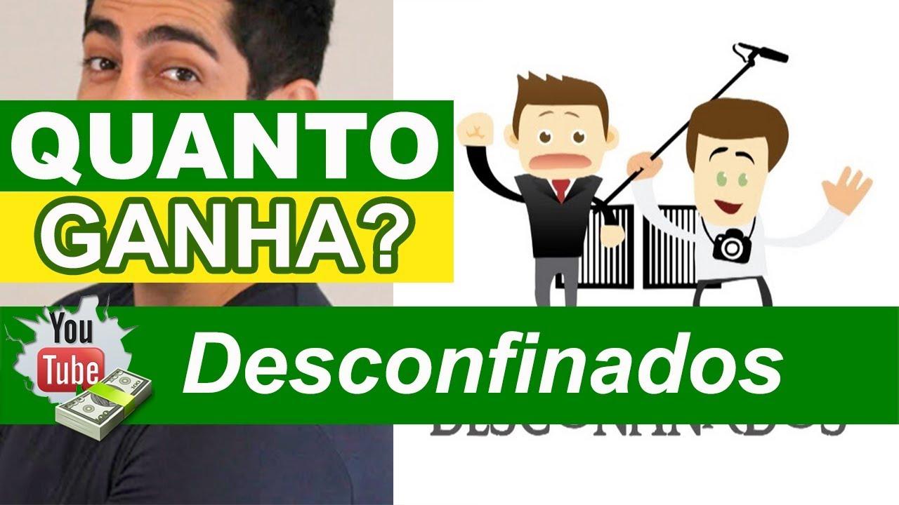 Quanto Ganha Canal Desconfinados - Youtuber