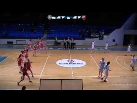 Partizan : Crvena Zvezda - MZRKL Adriatica Women Basketball League