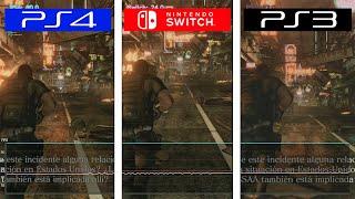 resident Evil 6  Switch vs PS3 vs PS4  Framerate Test  FPS Comparison