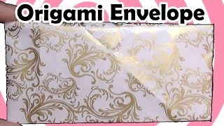 Origami Envelope Instructions