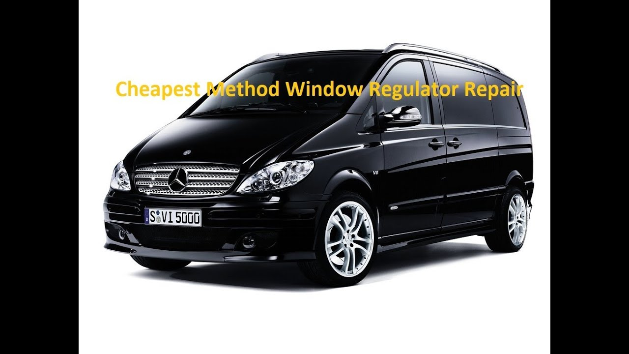 w639 mercedes vito viano power window repair regulator winder youtube rh youtube com mercedes vito-viano wiring diagrams mercedes viano towbar wiring