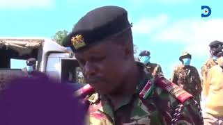 13-year-old boy boldly confronts the no-nonsense Regional commissioner George Natembeya