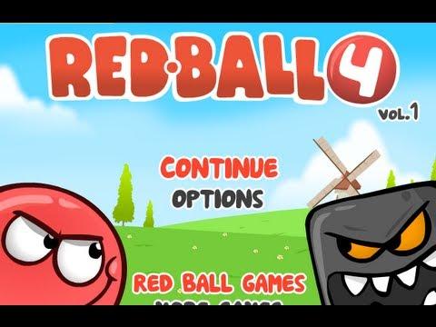 Red Ball 4 -Walkthrough