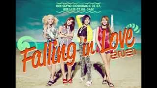 2NE1 - Falling in love ( Audio)