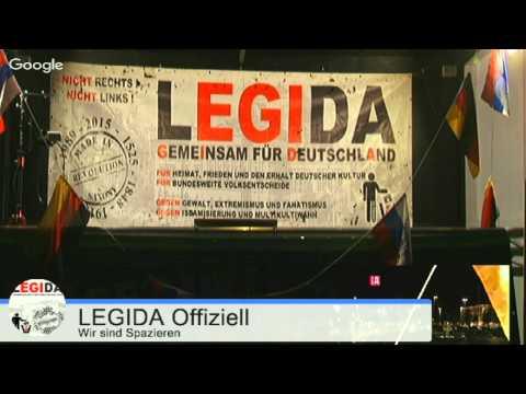 LIVE LEGIDA 28.09.2015 Richard-Wagner-Platz Leipzig