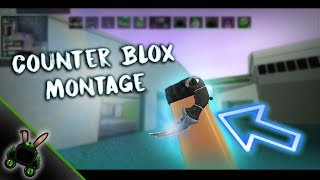 Roblox Counter Blox Montage (NEW KNIFE!)