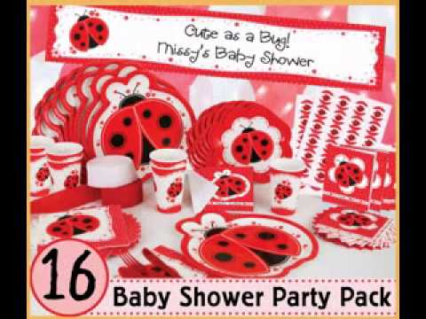 Simple Ladybug Baby Shower Ideas