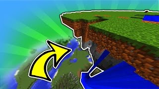 Minecraft: How to Create Mountains and Floating Islands Easy
