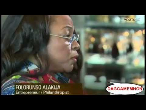 AFRICAN FEMALE BILLIONAIRE SPEAKS ABOUT HER BOOK