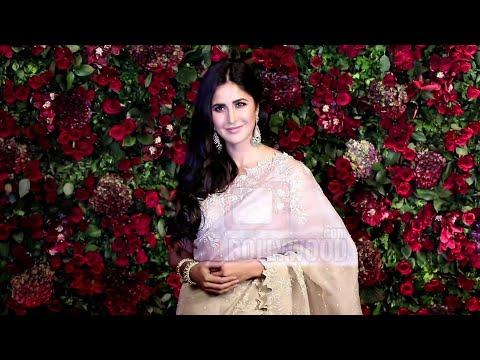 Katrina Kaif Makes Grand Entry At Ranveer-Deepika Reception Party #DeepVeer