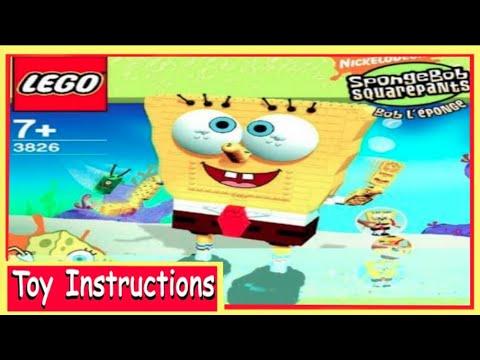 How To Build Lego Spongebob Squarepants 3826 Build A Bob