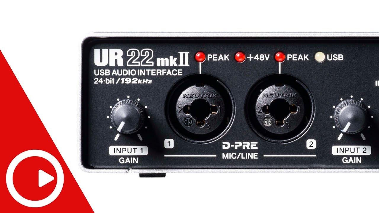Обзор внешней звуковой карты Steinberg UR22mkII: функции и способы подключения