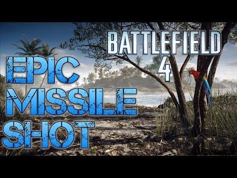 Battlefield 4 Multiplayer   EPIC MISSILE SHOT   Jack Saves the Day  