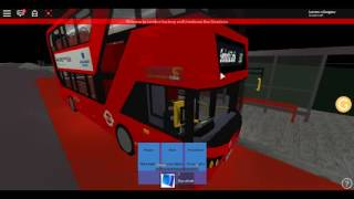 Roblox London Hackney & Limehouse bus Simulator New E400H City CT Plus Route 388 Summer 2017
