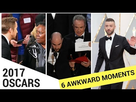 Top 6 Most Awkward Moments From the 2017 Oscars!